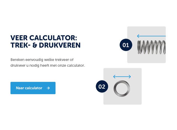 Veercalculator: trek- en drukveren